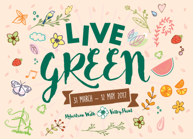 Go Clean and Green at Robertson Walk & Valley Point