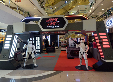 The Galactic Arena at Selected Frasers Centrepoint Malls